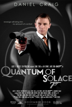 007 - Quantum of Solace (2008) Poster
