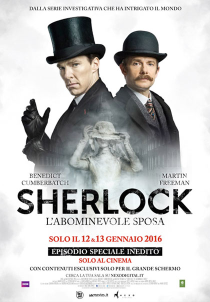 Sherlock - L'abominevole sposa (2015) Poster
