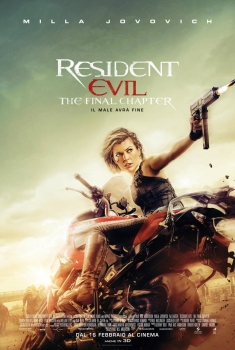 Resident Evil 6 - The Final Chapter (2017) Poster