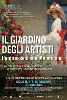 Il giardino degli artisti: l'impressionismo americano (2017) Poster