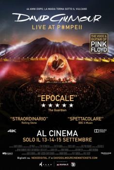 David Gilmour - Live at Pompeii (2017) Poster