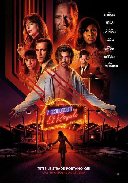 7 Sconosciuti al El Royale (2018) Poster