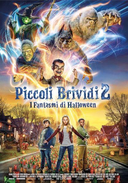 Piccoli Brividi 2: I Fantasmi di Halloween (2018) Poster
