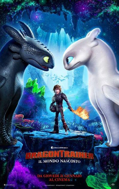 Dragon Trainer: Il mondo nascosto (2019) Poster