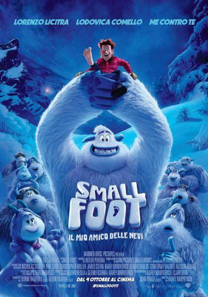 Smallfoot - il mio amico delle nevi (2018) Poster