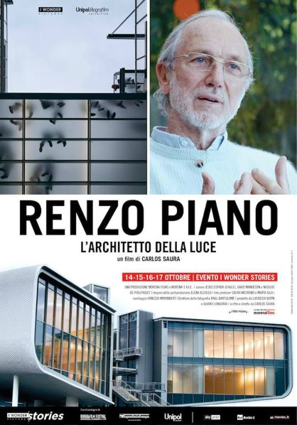 Renzo Piano: l'architetto della luce (2018) Poster
