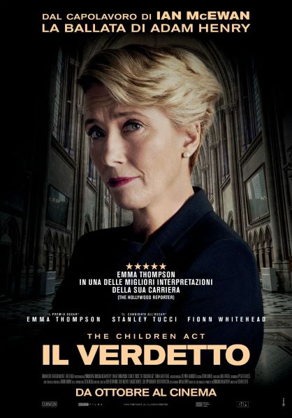 Il Verdetto - The Children Act (2018) Poster