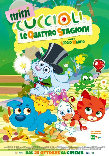 Minicuccioli - Le quattro stagioni (2018) Poster