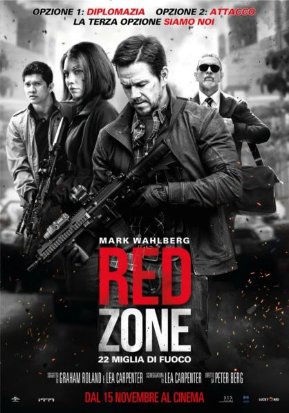 Red Zone - 22 miglia di fuoco (2018) Poster