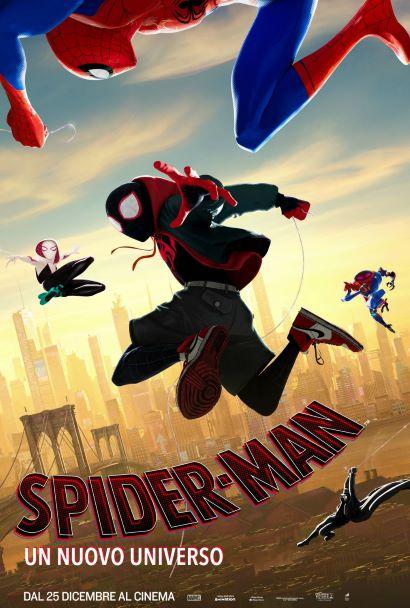 Spider-Man: Un nuovo universo (2018) Poster