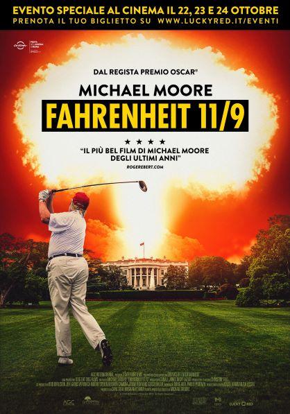 Fahrenheit 11/9 (2018) Poster