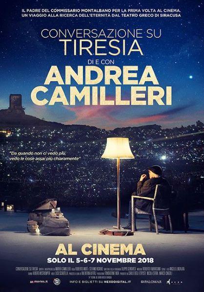 Conversazione su Tiresia. Di e con Andrea Camilleri (2018) Poster