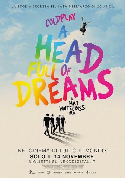 Coldplay - A Head Full of Dreams (2018) Poster