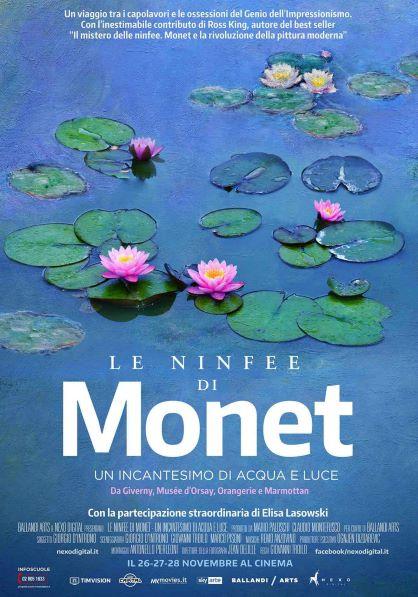 Le Ninfee di Monet - Un incantesimo di acqua e luce (2018) Poster