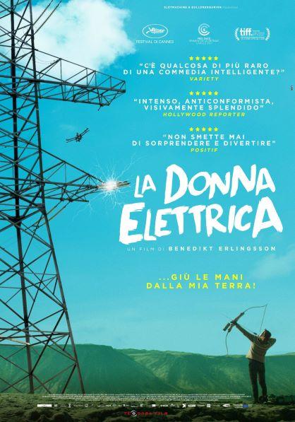 La donna elettrica (2018) Poster