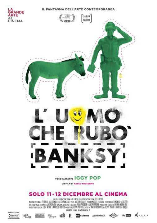 L'uomo che rubò Banksy (2018) Poster