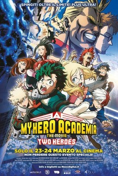 My Hero Academia the Movie: Two Heroes (2019) Poster