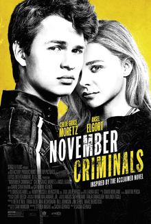 November Criminals (2017) Poster