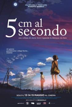 5 Cm al secondo (2007) Poster