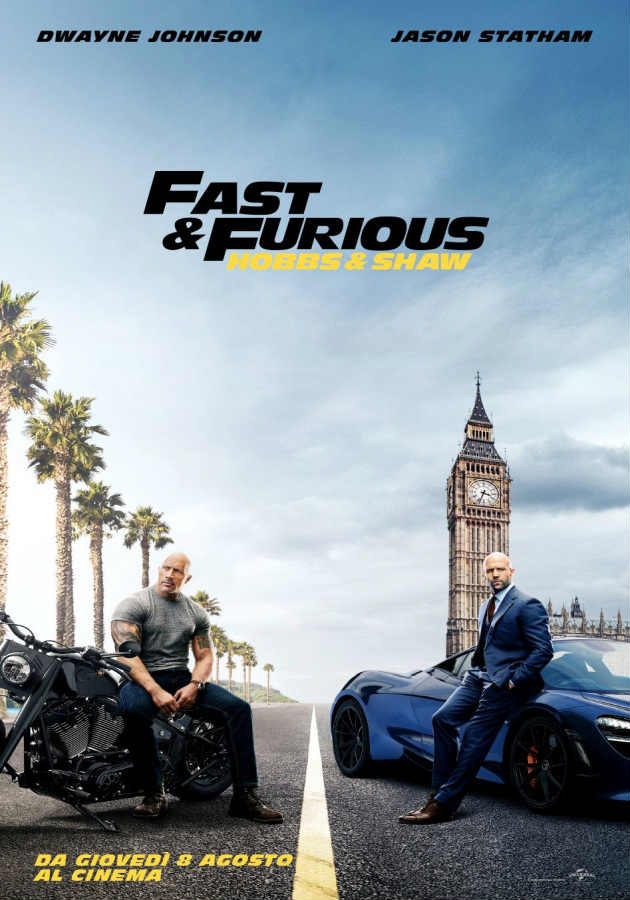 Fast & Furious - Hobbs & Shaw (2019) Poster