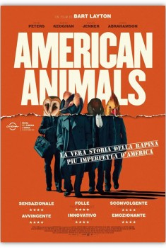 American Animals (2019) Poster