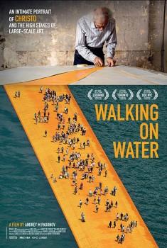 Christo - Walking on water (2019) Poster