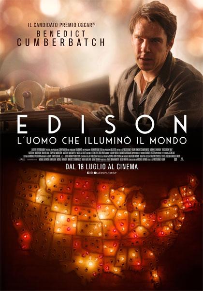 Edison - L'uomo che Illuminò il Mondo (2017) Poster