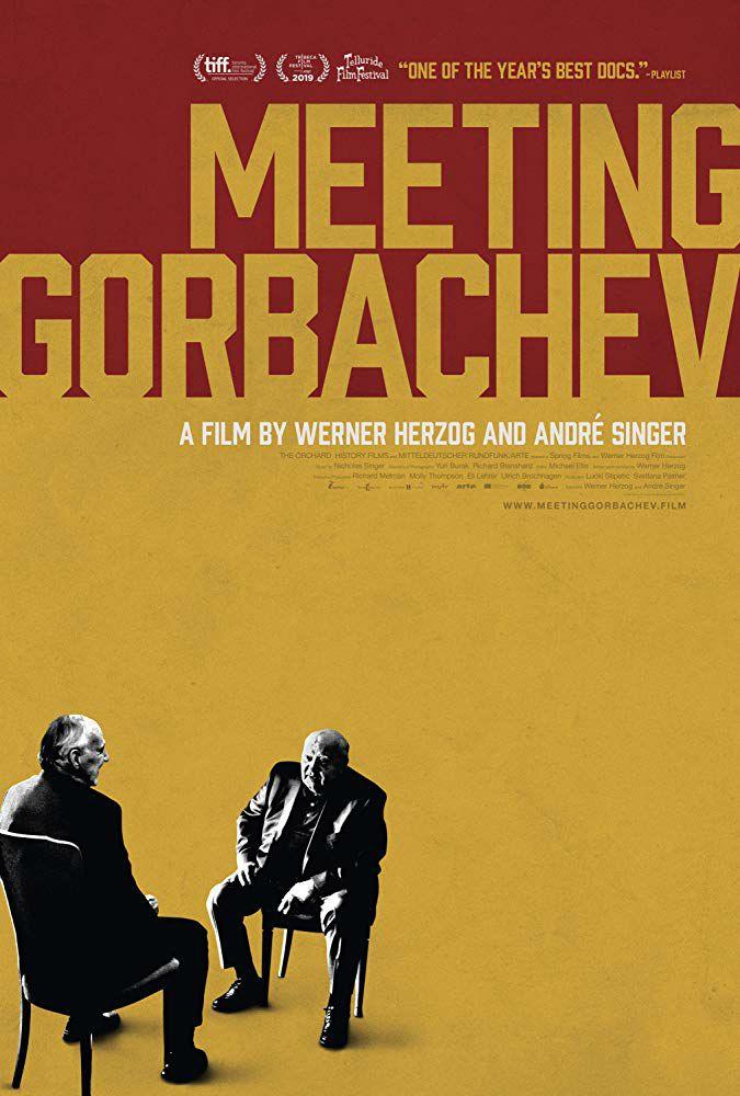 Herzog incontra Gorbaciov (2019) Poster