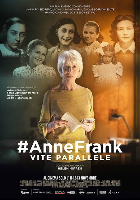 #Annefrank. Vite parallele (2019) Poster