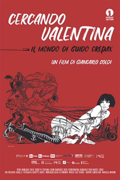 Cercando Valentina - Il mondo di Guido Crepax (2019) Poster