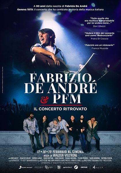 Fabrizio De André e PFM. Il concerto ritrovato (2019) Poster