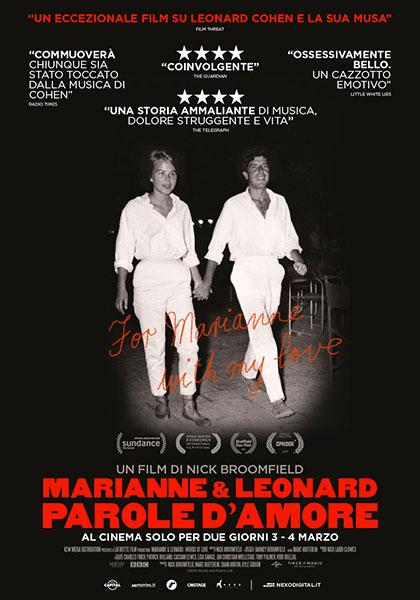 Marianne e Leonard. Parole d'amore (2019) Poster