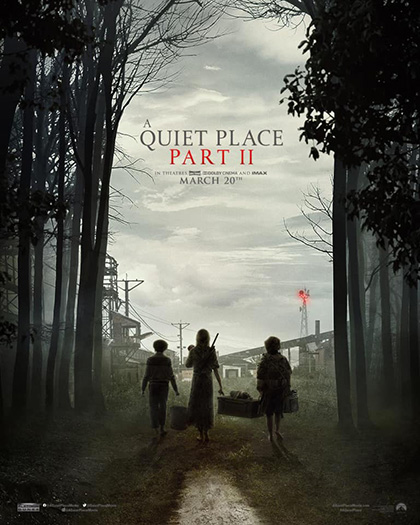 A Quiet Place 2 (2021) Poster