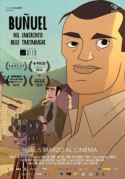 Buñuel - Nel labirinto delle tartarughe (2018) Poster
