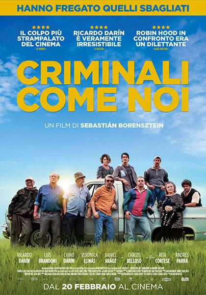 Criminali come noi (2019) Poster