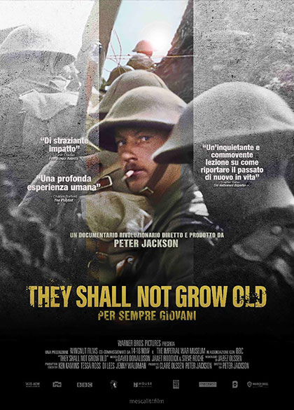 They Shall Not Grow Old - Per sempre giovani (2018) Poster