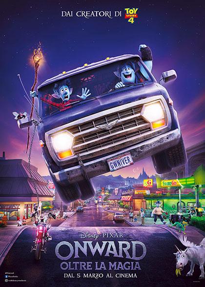 Onward - Oltre la Magia (2020) Poster