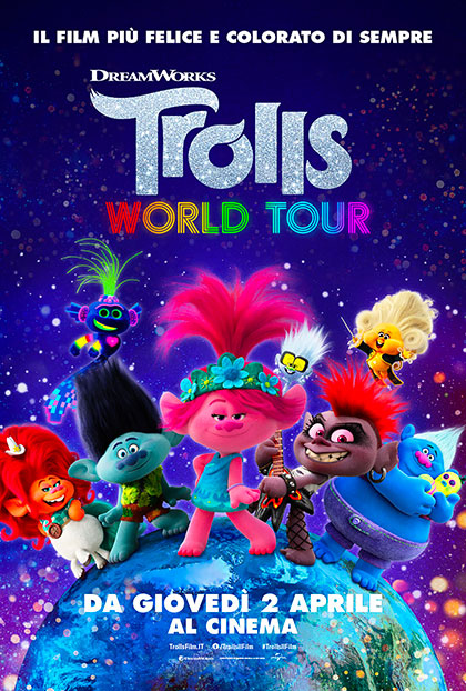 Trolls 2 - Wolrd Tour (2020) Poster