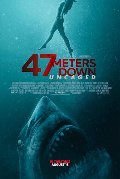 47 Metri: Uncaged (2020) Poster