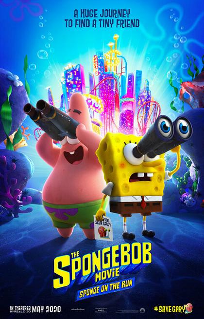 SpongeBob - Amici in Fuga (2020) Poster