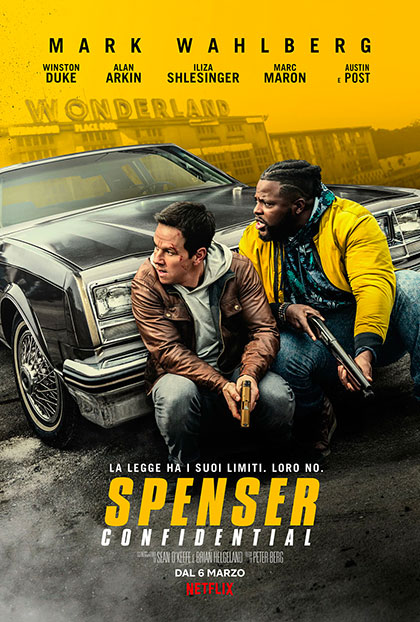 Spenser Confidential (2020) Poster
