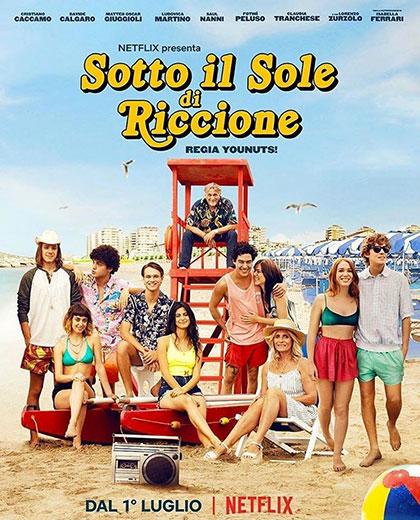 Sotto il sole di Riccione (2020) Poster