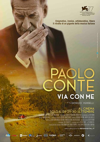 Paolo Conte, via con me (2020) Poster