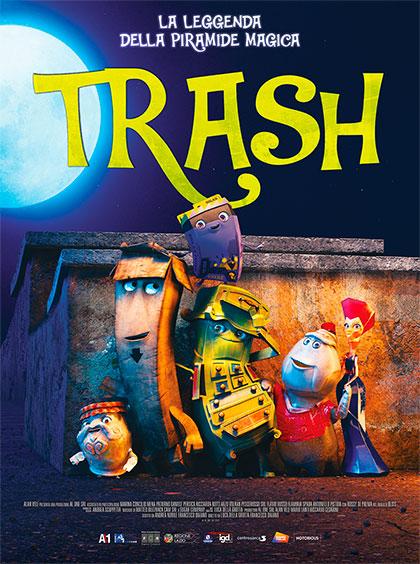 Trash - La leggenda della piramide magica (2020) Poster