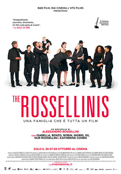 The Rossellinis (2020) Poster