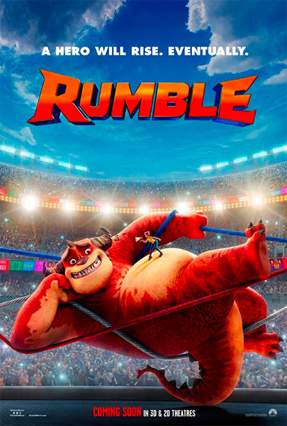 Rumble (2021) Poster