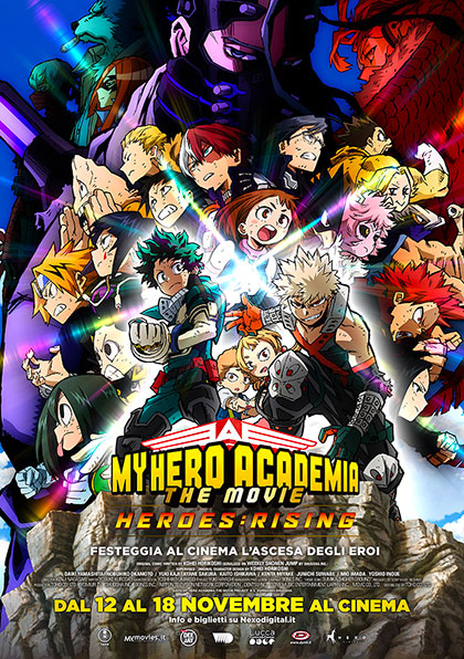 My Hero Academia the Movie 2: The Heroes Rising (2020) Poster