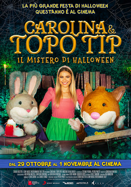 Carolina e Topo Tip - Il mistero di Halloween (2019) Poster