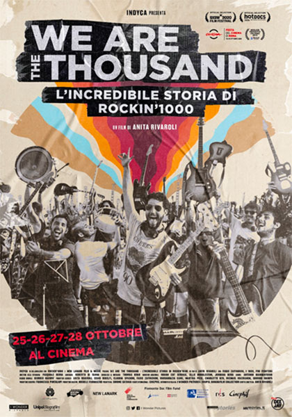 We Are the Thousand - L'Incredibile storia di Rockin'1000 (2020) Poster