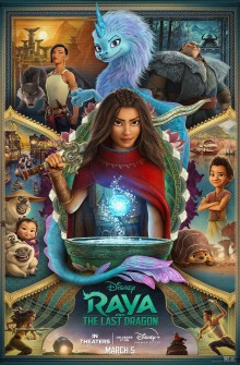 Raya e l'ultimo drago (2021) Poster